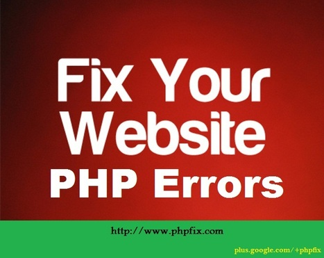 Impact Of PHP Errors On Your Website and How To Fix Them All? | Fix PHP Errors Online | Scoop.it