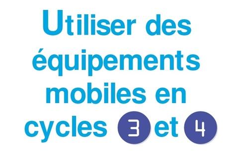 Fiches d'usages des équipements mobiles | TICE, Web 2.0, logiciels libres | Scoop.it