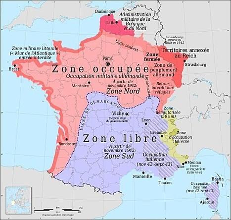 La France de la Collaboration/Deuxième Guerre Mondiale   fleenligne   Scoop.it