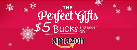 10 Cool Gifts for $5 Bucks and under on AMAZON | Press Releases | Scoop.it