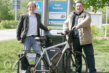 wer-macht-was.in meiner Region » Erste freie E-Bike-Ladestation Ostfrieslands eröffnet | véhicules électriques étude de marché | Scoop.it