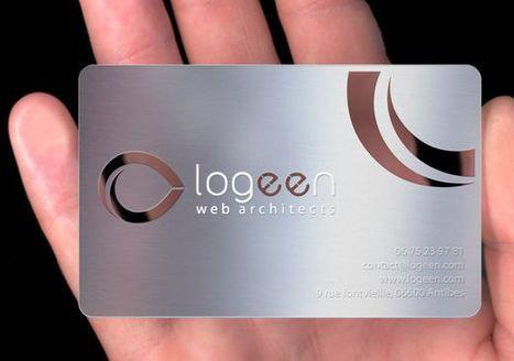 40 Unique Design of Transparent Business Cards   26 Ultimate Premium Facebook Page Templates   Scoop.it