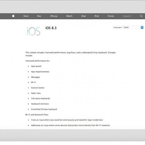 IOS 8.3 Problems Reported By iPhone And iPad Customers: Contact More ID, Battery Life Dilemmas ,   Nerd Vittles Daily Dump   Scoop.it