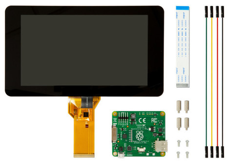 Raspberry Pi's Official Touchscreen Launched - DZone News | Raspberry Pi | Scoop.it