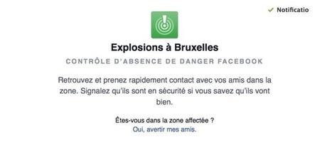 Comment Facebook a activé le «safety check» à Bruxelles | Fresh from Edge Communication | Scoop.it