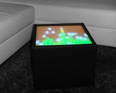This LED table really ties the room together | Maker Stuff | Scoop.it