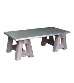 Dadra | Mesas de centro hierro forjado y madera a medida | MESA DE CENTRO INDUSTRIAL CABALLETES MADERA | Mesa de centro  hierro y madera | Scoop.it