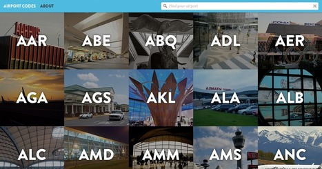 Airport Codes | AP HUMAN GEOGRAPHY DIGITAL  STUDY: MIKE BUSARELLO | Scoop.it