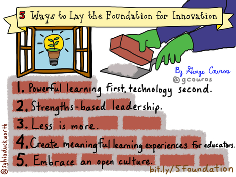 5 Ways to Lay the Foundation for Innovation #InnovatorsMindset | 21st century education | Scoop.it