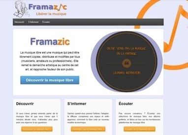 Framazic, pour une musique à l'air libre- Ecrans | Trucs de bibliothécaires | Scoop.it