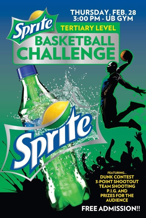 Sprite Tertiary Level Basketball Challenge | Culture Trait | Scoop.it