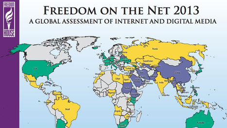 A Map of Internet Freedom Around the World | Local and global strategies | Scoop.it