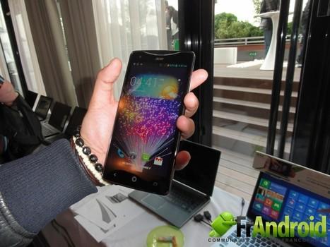 Prise en main du Acer Liquid S1 de 5,7 pouces | Geeks | Scoop.it