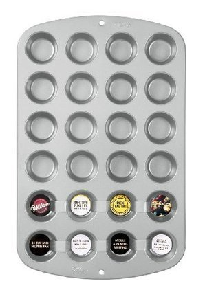 Wilton Cup Mini Muffin Pan-A Favorite Of My Youngest Grand Daughter | Cool Stuff | Scoop.it