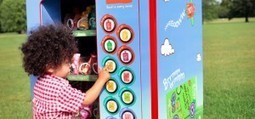 Un distributeur automatique de snacks sains pour enfants - | Communication Agroalimentaire | Scoop.it