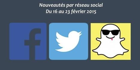 Récapitulatif des dernières fonctionnalités par réseau social : du 16 au 23 février 2015 - Clément Pellerin - Community Manager Freelance & Formateur réseaux sociaux | Veille  Community Management | Scoop.it