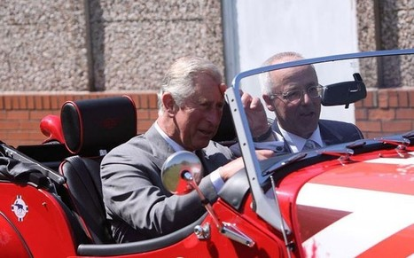 HRH The Prince of Wales visits Morgan - Telegraph.co.uk | Global Family Business Brands | Scoop.it