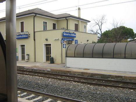 4) ...riposte le bici a QUARTO d'ALTINO...ancora in treno | USCITA ECOSOSTENIBILE | Scoop.it