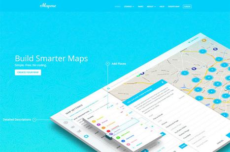 3 outils pour créer des cartes personnalisées | Webdesigner Trends | Web Increase | Scoop.it