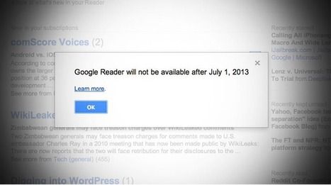 Why We Mourn Google Reader - And Why It Matters | read/write | :: The 4th Era :: | Scoop.it