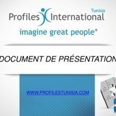 Plaquette de présentation de Profiles International Tunisie | Management des Talents | Scoop.it
