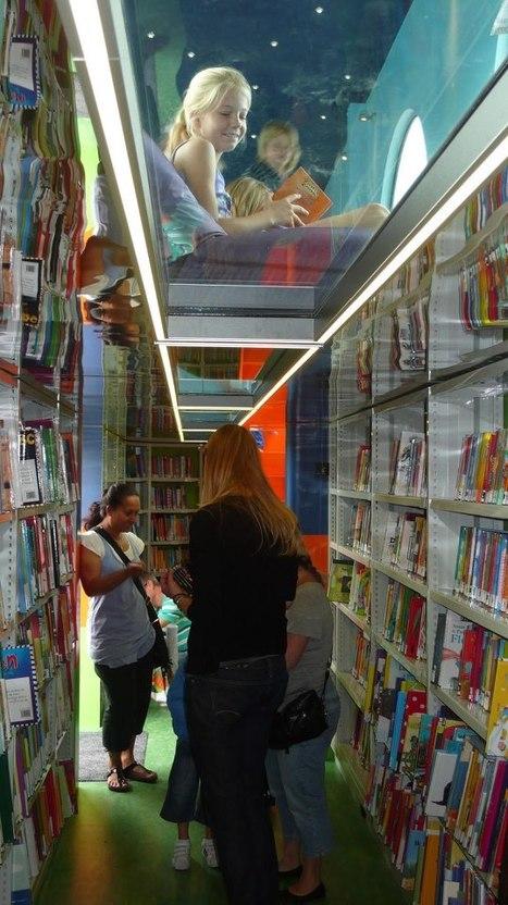 La bibliothèque-container   Facebook   Le sens de votre vie   Scoop.it