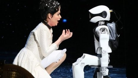 Robot stars on Berlin opera stage | Post-Sapiens, les êtres technologiques | Scoop.it