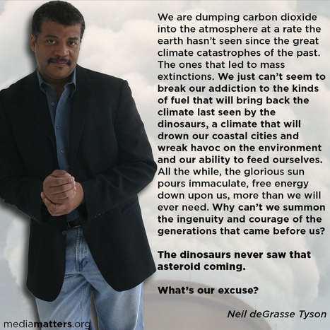 Neil De Grasse Tyson Makes the Connections Fox Fails to Make - on Fox | Sustain Our Earth | Scoop.it