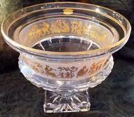 Val St Lambert Bowl Borodine Danse de Flore Clear 93185 near MINT w orig box   M&R Gift Gallery   Scoop.it
