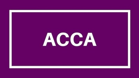 Know ACCA Course Structure And Fees | Education | Scoop.it