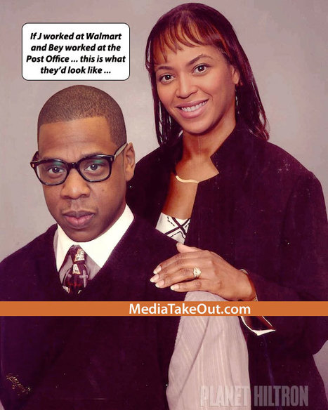 OOOOH SH*T!!! An Artist Created A RENDERING . . . Of What Jay Z And Beyonce Will Look Like . . . If They DIDN'T HAVE MONEY!!! - MediaTakeOut.com™ 2012 | Fine Girl Operating Guide | Scoop.it