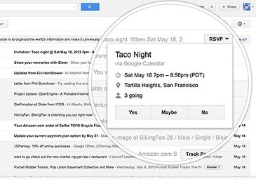Gmail action buttons: making email more interactive | social media | Scoop.it