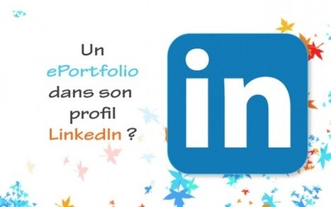 Un ePortfolio dans son profil LinkedIn ? ‹ Blog accompagner-demarche-portfolio.fr | Usages des  TIC et du Web 2.0 | Scoop.it