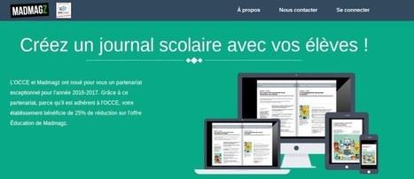 Partenariat national inédit entre OCCE et Madmagz ! – Ludovia Magazine | Pédagogie & Numérique | Scoop.it