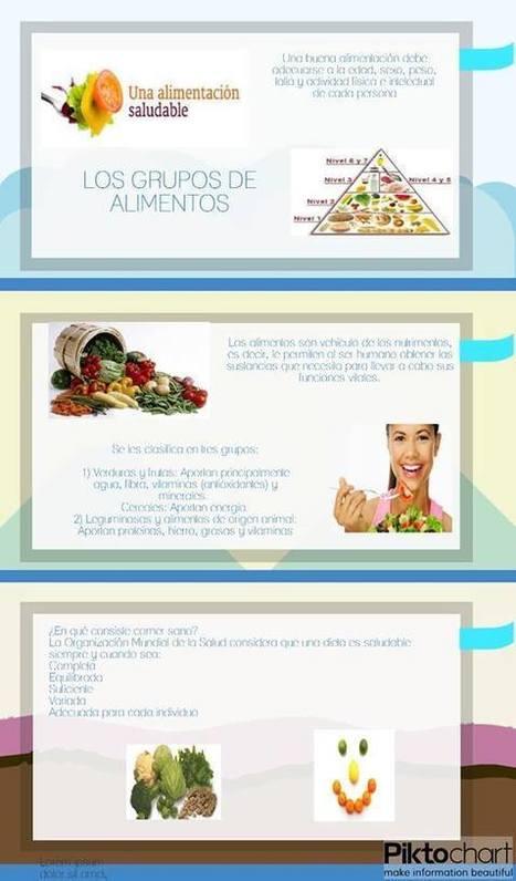Una alimentación saludable | PORTAFOLIO EVIDENCIAS DE LAS TIC´S | Scoop.it