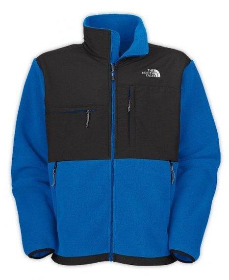 Mens North Face Blue Denali Fleece Jacket Sale 60% off & free shipping! | winter wear | Scoop.it
