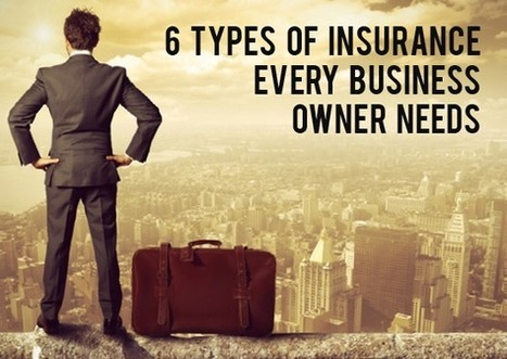 6 Types of Insurance Every Business Owner Needs | Insurance Tips and Insights | Scoop.it