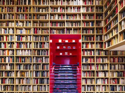 Sonia Rykiel habille trois boutiques phares de bibliothèques | ce que j'aime dans les bibliothèques | Scoop.it