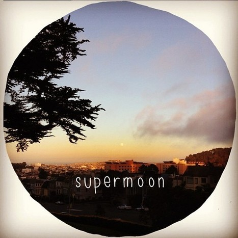 Supermoon from Lone Mountain | USF Neighborhood | Scoop.it