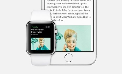 Feedly explique le design de son application Apple Watch | RSS Circus : veille stratégique, intelligence économique, curation, publication, Web 2.0 | Scoop.it