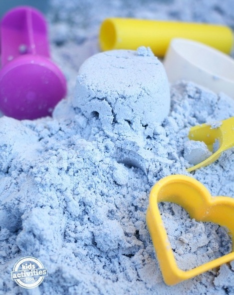 Toddler-Safe Cloud Dough - Kids Activities Blog | Top 10 Summertime Kids Crafts | Scoop.it