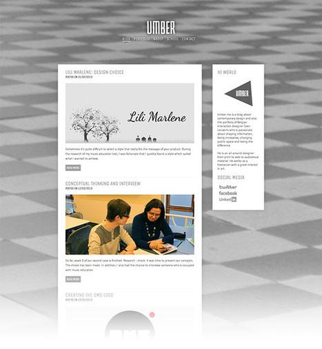 Web Design Workshop #32: Umber | Webdesigntuts+ | le webdesign | Scoop.it