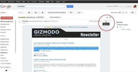 Connaissiez-vous cette fonction de Gmail ? | Time to Learn | Scoop.it