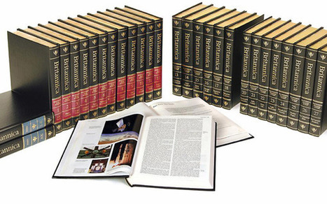 Encyclopaedia Britannica Gives Up On Print Edition | 21st Century Information Fluency | Scoop.it