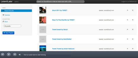 Présentation ListenItLater : vos musiques à écouter plus tard   Musical Freedom   Scoop.it