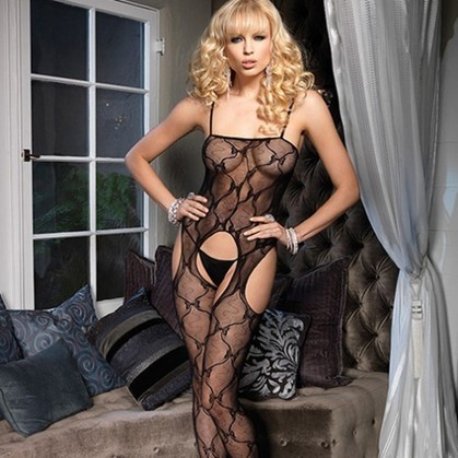 Leg Avenue Bow Lace Suspender Bodystocking | Love Nirvana - Pleasure at your Fingertips | Scoop.it