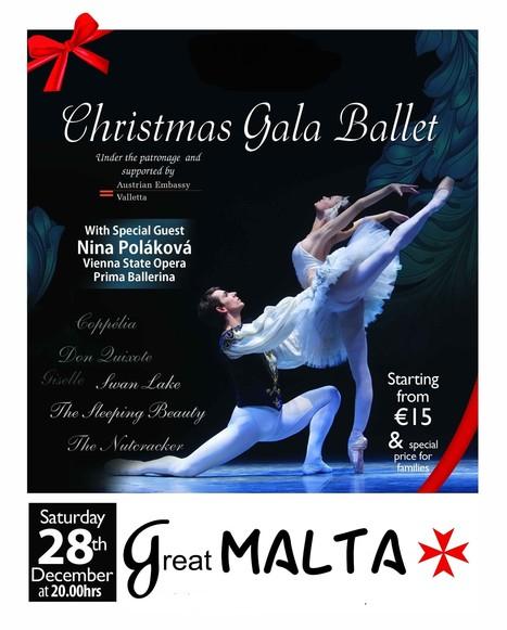 Christmas Gala Ballet | Great Malta | Scoop.it