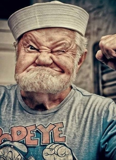 epic-humor: The Real Popeye | THOUGHTS and CHAOS | Humor | Scoop.it