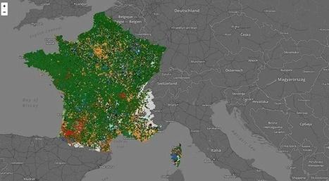 La carte de France des sports les plus pratiqués, commune par commune | Slate.fr | Mash, mix, and learn: authentic sources target student interests | Scoop.it