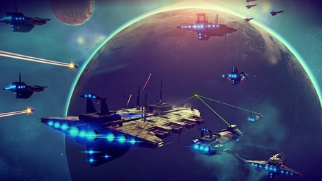 No Man's Sky - De nouvelles images du jeu - JeuxCapt | NO MAN'S SKY Informations | Scoop.it